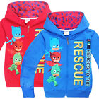 PJ MASKS boys gilrs clothing top hoodie thin jacket tracksuit outfit size 2-6 AU