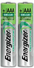 Energizer AAA Rechargeable Batteries NiMH 500mAh PreCharge LR03 HR03 Phone <br/> Quantity Available in 2, 4, 8, 12,16 Batteries UK Stock
