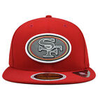 San Francisco 49ers REFLECTIVE TEAM Fitted 59Fifty New Era NFL Hat