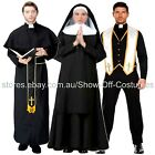 PRIEST VICAR NUN SISTER MENS LADIES RELIGIOUS FANCY DRESS COSTUMES