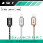Aukey CB-D16 MFI Certified,Nylon Braided USB A to Lightning Cable