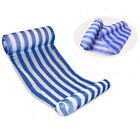 Stripe Pool Floats Air Mattress Inflatable Sleeping Bed Water Hammock Deckchair  cheap