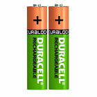 Duracell Plus AAA Rechargeable Batteries NiMH 750mAh Stay Charged HR03 Duralock
