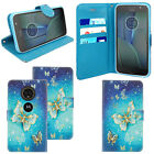 For Motorola Moto C/E4 Plus/G5/G5+ Mobile Phones- Wallet Flip Leather Case Cover