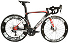 STRADALLI RD17 CARBON AERO DISC WHEELSET SHIMANO ROAD BIKE BICYCLE ULTEGRA 8000