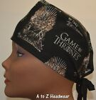 "Game of Thrones ""The Iron Throne"" TRADITIONAL Tie-Back Unisex Surgical Scrub Hat"