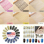 108PCS 3D Flower Nail Art Stickers Decals Tips DIY Decoration Manicure Stamping