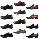 Red Tape REAL LEATHER Formal Casual Lace Slip on Shoes - From Only £ 9.99