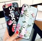 Hot Flower Flora Soft Supreme Mirror Face Soft Phone Case Back Cover For iPhone