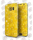 Samsung Galaxy S7/S7 Edge BRIGHT YELLOW JESTER HAT WITH BALLOONS Printed Skin