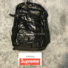 Supreme FW17 Backpack 100D Cordura boxlogo black red in hand 100% Authentic