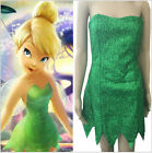 Halloween Cosplay Tinker Bell Costume Party Fancy Dress And Fairy Suits UK S-XL