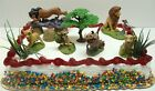 Lion King Birthday Cake Topper Set Featuring Mufassa, Zazu, Pumbaa, Scar, Timon,