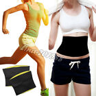 Neoprene Waist Tummy Girdle Band Sport Body Shaper Trainer Control Cincher Belts