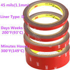 3M Clear Core Double-sided Tape Acrylic Foam Adhesive Tape Automotive 3 Meter