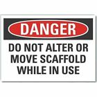 "LYLE LCU4-0598-RD_14X10 Decal,Danger Do Not Operate,Alter,14x10"" G9484170"