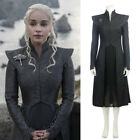 Game of Thrones Season 7 Mother of Dragons Daenerys Targaryen Costume Coat Skirt