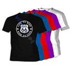Camiseta Route 66 Road XXL XL L M S Size Misuri Kansas Camiseta T-Shirt 04