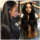Best Silky Straight Lace Front Human Hair Wigs Body Wave Brazilian Remy Lace Wig