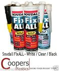 Fix All high strength grab adhesive - single tube of Soudall FixAll