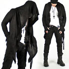 NewStylish Mens Fashion Avant-garde Super Unique Diabolic Hood Cape Cardigan