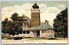 The First Congregational Church in Mount Vernon, New Hampshire Postcard 1906