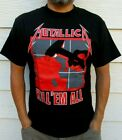 METALLICA KILL EM ALL PUNK ROCK T SHIRT MEN'S SIZES image