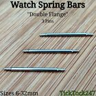 Stainless Steel Spring Bars / Pins For Watch Strap Bracelet Sizes 6mm - 32mm