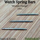 3 x Stainless Steel Spring Bars / Pins For Watch Strap Bracelet Sizes 6mm - 32mm