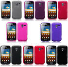For Samsung Galaxy Ace 2 i8160 Slim TPU Gel Silicone Skin Back Case Cover