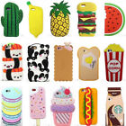 Kawaii 3D Cartoon Food Silicone Phone Case Cover Back For iPhone 6/6s/7/7Plus