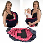 Newly Style Newborn Baby Infant Adjustable Carrier Sling Wrap Rider Backpack