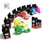 1/2 Rolls Precut Kinesiology Sports Elastic Tape Muscle pain care Therapeutic