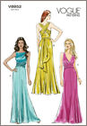 V8852 Sewing Pattern Formal Prom Bridal Bridesmaid Dresses Gowns OOP Sizes 4-12