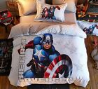 *** The First Avenger Single Bed Quilt Cover Set - Flat or Fitted Sheet ***
