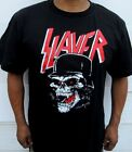 NEW! SLAYER SKULL PUNK ROCK T SHIRT MEN'S SIZES image