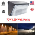 70W LED Wall Pack Light Commercial Security Lighting Fixture [400W MH Equivalent