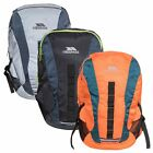 Trespass Race Reflective Rucksack Padded Backpack Orange Grey & Black