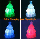 Color Changing Night Light Mini Christmas Tree Home Festival Ornaments Xmas Gift