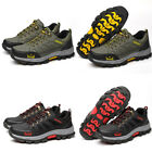 Men's Safety Shoes Steel Toe Work Sneaker Breathable Hiking Climbing Boots