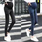 Maternity Pregnancy Skinny Trousers Jeans Pants Over The Bump Plus  Size M~3XL