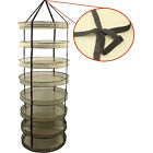 Horticlture Hanging Collapsible Mesh Herb Drying Rack Dry Net for Plants