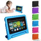 Kyпить Kids Shock Proof EVA Foam Handle New Case Cover for Amazon Kindle Fire HD 7 2015 на еВаy.соm
