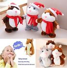 Adorable Mimicry Pet Speak Talking Record Hamster Mouse Plush Kids Toy Gift US