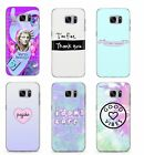 TEENAGER QUOTE FUNNY TRIPPY PLASTIC RUBBER PHONE COVER CASE FOR SAMSUNG GALAXY S