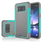 For Samsung Galaxy S8 Active Case Hybrid Rugged Rubber Armor Impact Hard Cover