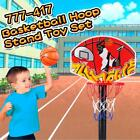 Basketball Hoop Stand Toy Set Adjustable Children Sports Train Equipment G5F0