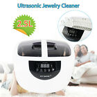 Ultrasonic 2.5L 65W Jewelry Cleaner Machine For Coins Lens Dental Clinic Glasses