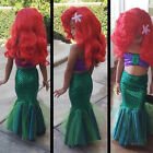 Disney Princess The Mermaid Ariel Little Girl Costume Cosplay Dress Girls New