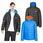 Trespass Ambrose Mens DLX Down Jacket Winter Warm Coat with Hood